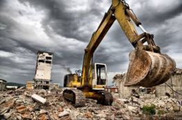 Этапы сноса зданий